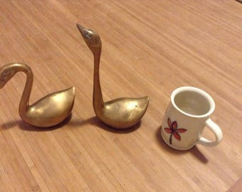 Brass Swans