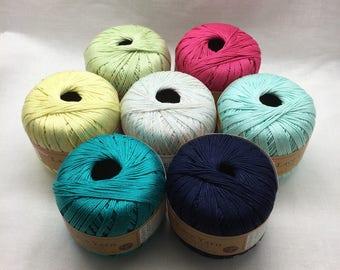 Lace Yarn, Knitting Yarn, Cotton