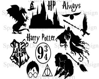 Instant Download Harry Potter, SVG Harry Potter