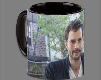 Dakota Johnson Jamie Dornan Coffee Cup Fifty Shades #0005