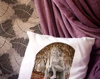 Big Bad Wolf- Decorative Pillow / Pillow case