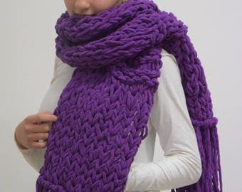 Hand-made scarves