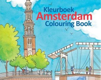 Amsterdam Colouring Book