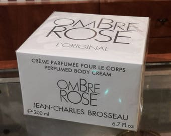 Ombre Rose Scented Body Cream 200ml Jean Charles Brosseau