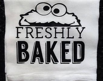 Baked Daily, Funny Kitchen Towels, Adult Humor, Bar Towels, Unique Kitchen Decor, Unique Bar Decor, Tea Towels, Funny Sayings, Unique Gift