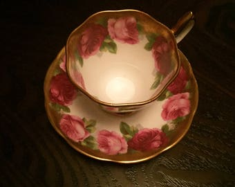 Mothers Day, Royal Albert - Teacup, Saucer and Plate. Bone China. Beautiful.