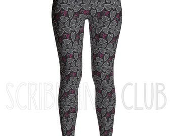 Women's Leggings for Valentines Day