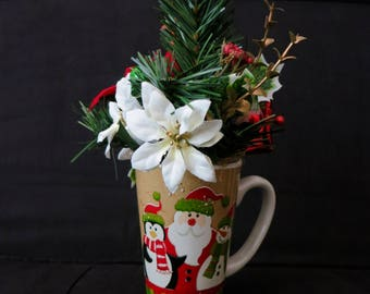 Christmas decorative mug
