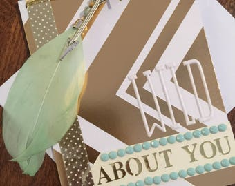 Wild About You Boho Card