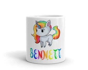 Bennett Unicorn Mug