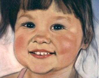 Custom childrens portrait
