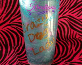 Custom made tumblers any way you'd like them