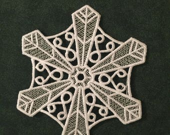 Crystal snowflake FSL