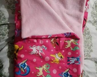 Pokemon Eeveelutions blanket
