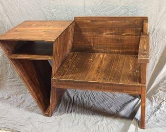 Triangle Desk/Bench