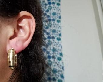 Solid 14k gold earrings