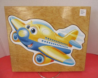 Child's Wood Framed Jet Puzzle