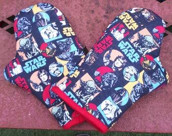 Star Wars oven gloves