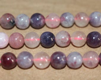 15 Inches Full strand,Natural Pink Tourmaline round beads  8mm beads,loose beads,semi-precious stone