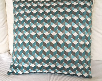 Pillow cover geometric design / cushion cover, geometric