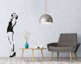 Marilyn Monroe high quality die-cut vinyl decal Hollywood Glamour Norma Jean