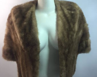 VTG 60's Mink COAT Great condition S-M
