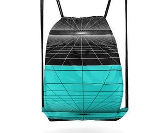 Drawstring Backpack Sports Bag Cinch Sack Hiking Gear Fitness Bag Gym Essential Cinch Bag Cross Body Bag Shoulder Bag Gift for Friend