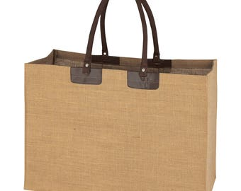 """50 Jumbo  """" ready to be decorated"""" Jute Totes"""
