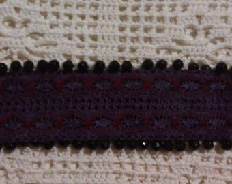 Cuff lace bracelet
