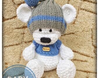 Handmade beautiful teddy bear