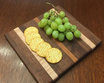 Walnut, Maple and Cherry Cheese Board
