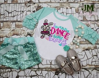 I Wanna Dance with Some Bunny, Easter Shirt, Dance shirt, vinyl