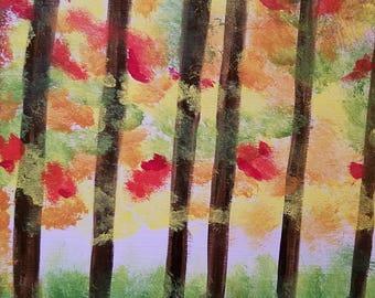 Un flou d'automne