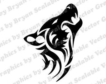 Wolf SVG EPS