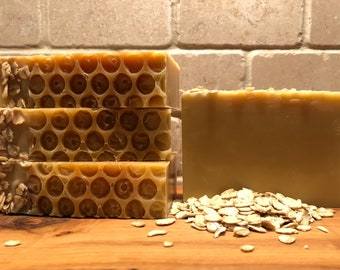 Goat's Milk, Oatmeal, and Honey Soap