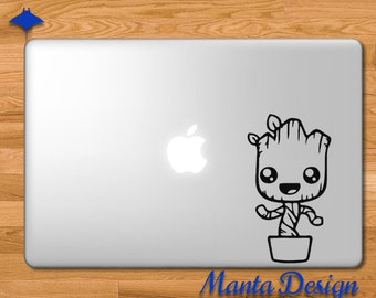 Baby Groot Guardians of the Galaxy Vinyl Decal