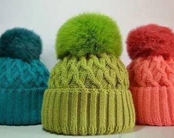 knitted cap cutie
