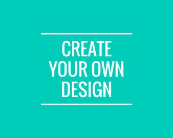 Create your Own T-Shirt Design or Sticker!