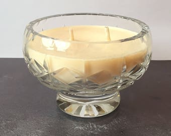 Vintage Glass Candle - Evening Flora Fragrance