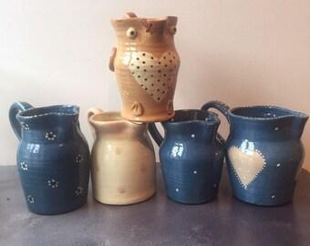 Ceramic Handpainted Jugs