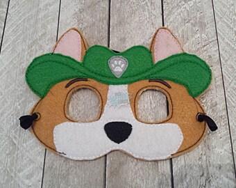 Jungle Paw Masks Puppy, Hero, Working Dog, Patrol, Inspired Mask, Pretend Play, Imagination