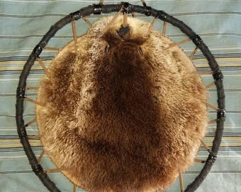 Alaskan River Otter Face Spirit Hoop