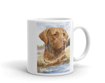 Splash Chesapeake Bay Retriever 11oz Coffee Mug