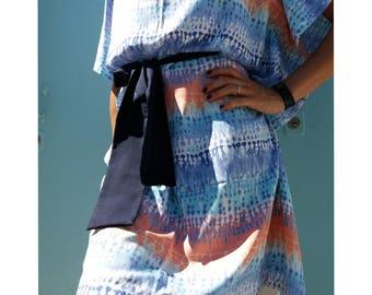 KIMONO DRESS handmade dress