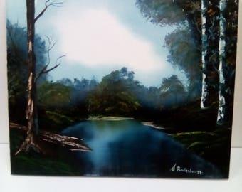 Landscape  oil painting  original