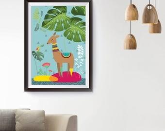 Lama - poster