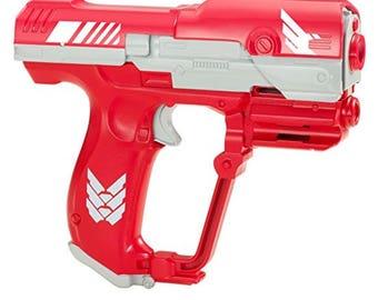 Modded Nerf Gun BoomCo M6 K26 Spring Halo Inspired Performance Mod Nerf War Ready Made to Order