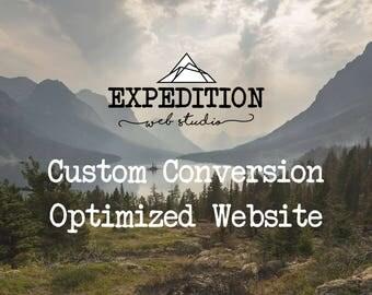 Custom Wordpress Website, Fully Responsive, Optimized for Digital Marketing and SEO