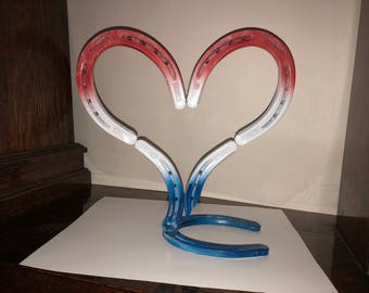 Horseshoe, welded, Heart, steel, Love, Valentine