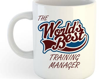 The Worlds Best Training Manager Mug